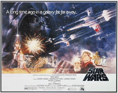 STAR WARS Style A half-sheet by Tom Jung