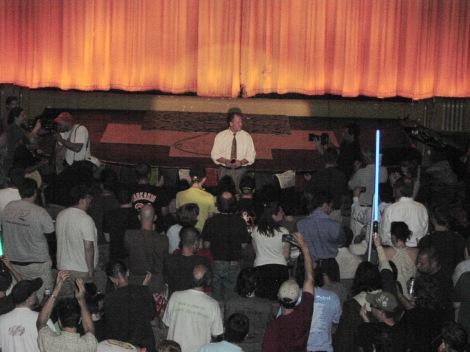 TK 8pm standing ovation