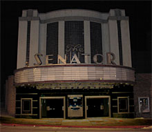 SENATOR Theatre in the dark